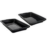 Prepology Set of 2 Silicone Smoker Trays - K36576