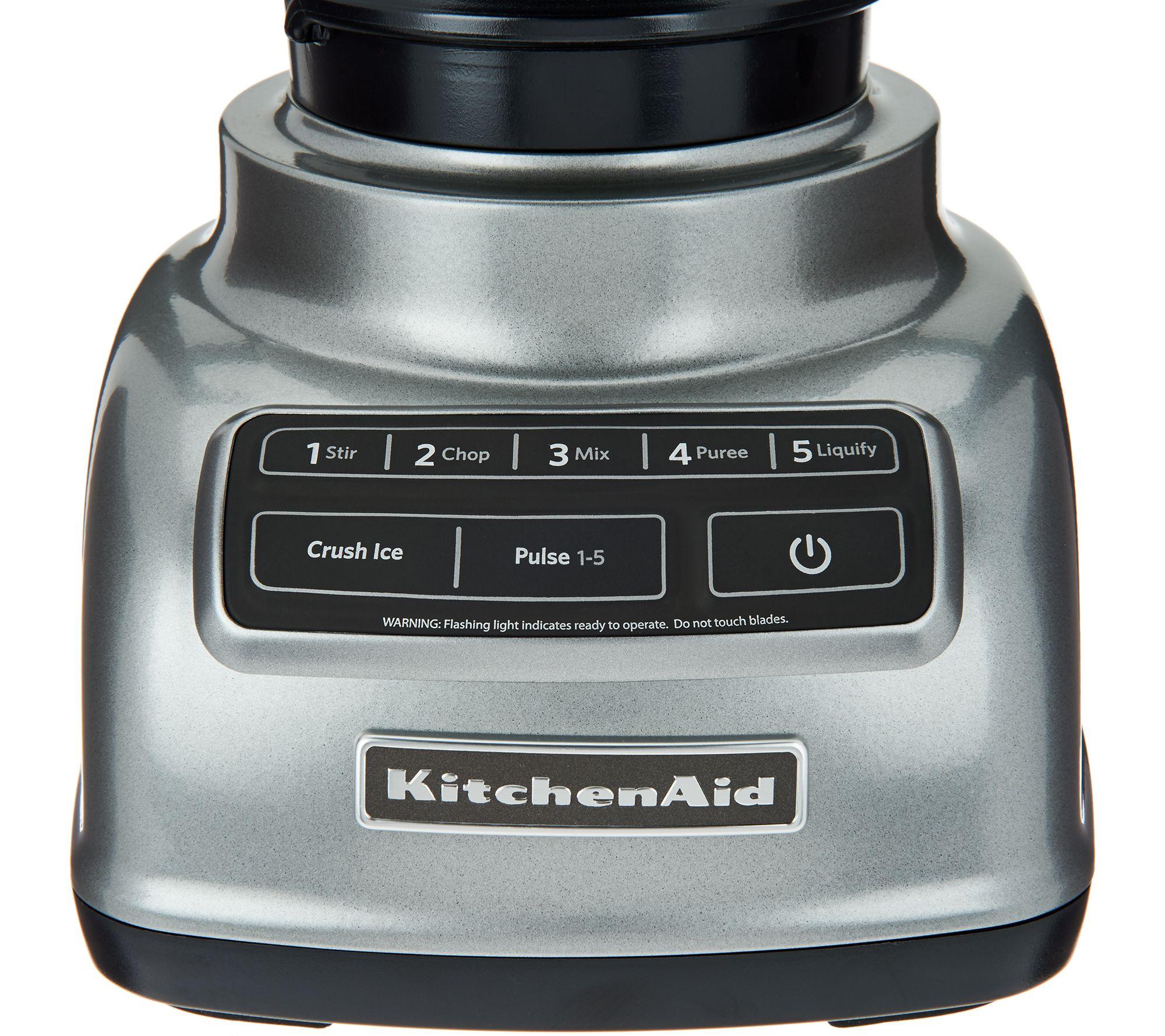 Kitchenaid Diamond Blender Kitchenaid 5 In 1 Premium Diamond Blender  Qvc
