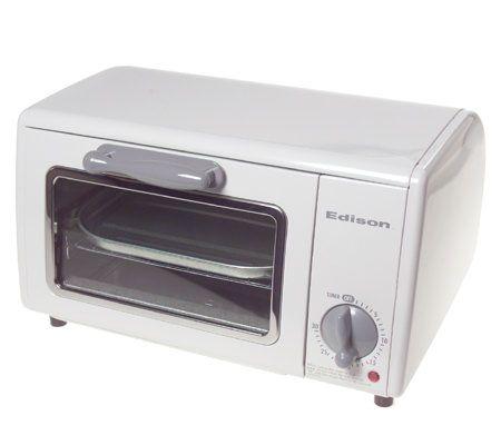 Edison 4-Slice Toaster Oven ? QVC.com