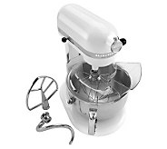 KitchenAid 6-Qt Pro Stand Mixer - White - K298777