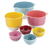 Cake Boss Accessories 7-Piece Complete Mixing &Prep Bowl Set - K303077