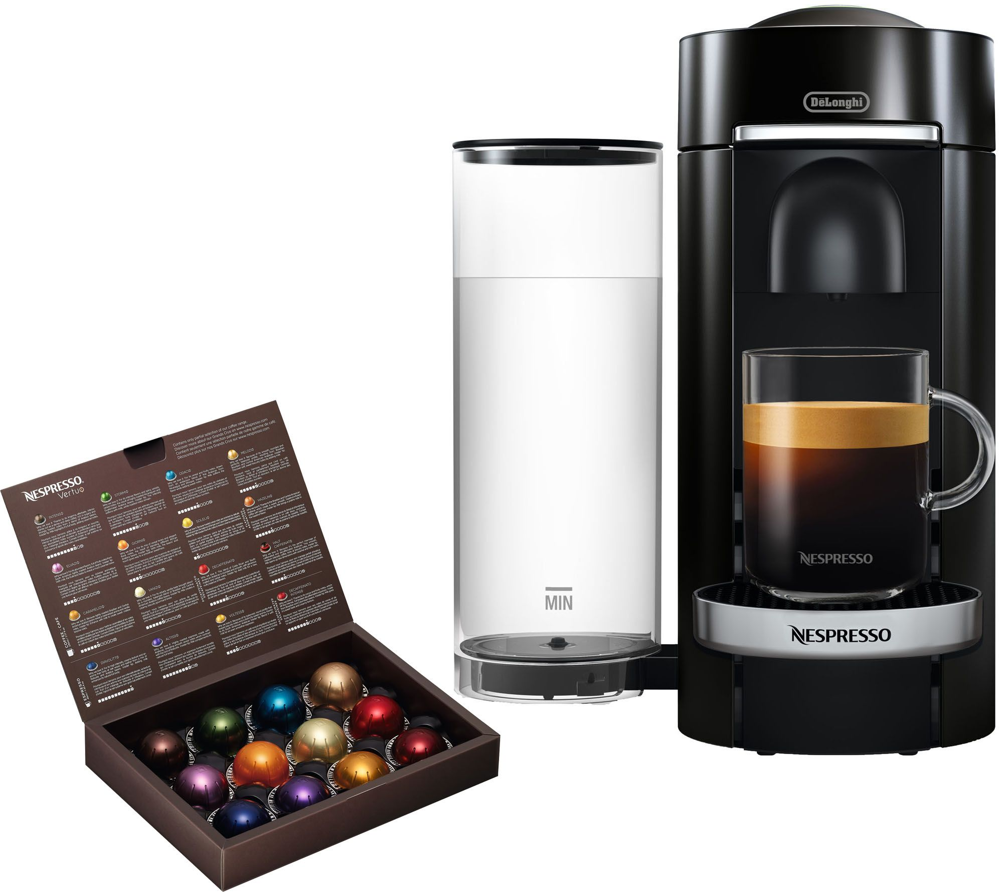 nespresso vertuo plus deluxe coffee machine bydelonghi. Black Bedroom Furniture Sets. Home Design Ideas