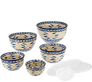 Temp-tations Old World 5-Piece Concentric Bowl Set - K41277