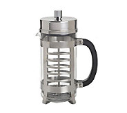 BonJour 8-Cup Linear French Press in Polished Stainless Steel - K128778