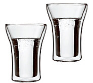 Bodum Assam Set of 2 Double Wall Highball Glasses - K297678
