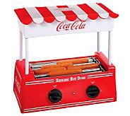Nostalgia Electrics Coca-Cola Series Hot Dog Roller - K300978