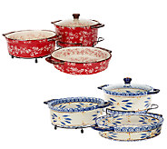 Temp-tations Cook & Look 3-piece Round Baker Set - K41778