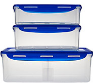 Lock & Lock 3 piece Refrigerator Storage Set - K42778
