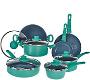GreenPan 12 Piece Cookware Set with Ceramic Nonstick - K43278