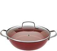 Cooks Essentials 4qt Lightweight Cast Iron Brasier w/ Lid - K44078