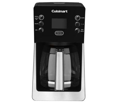 Cuisinart PerfecTemp Programmable Coffee Makerw/ Glass Carafe - Page 1 QVC.com