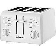 Cuisinart 4-Slice Compact Plastic Toaster - White - K301679