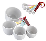 Cake Boss Accessories 8-piece Measuring Cups and Spoons Set - K303079