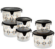 Temp-tations 6-piece Old World Round Storage Set - K41679