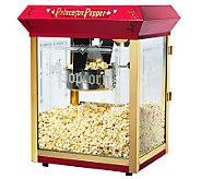 Red Princeton 8-oz Antique-Style Popcorn Machine - K131880