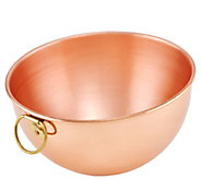Old Dutch International 2-qt Solid Copper Beating Bowl - K304780