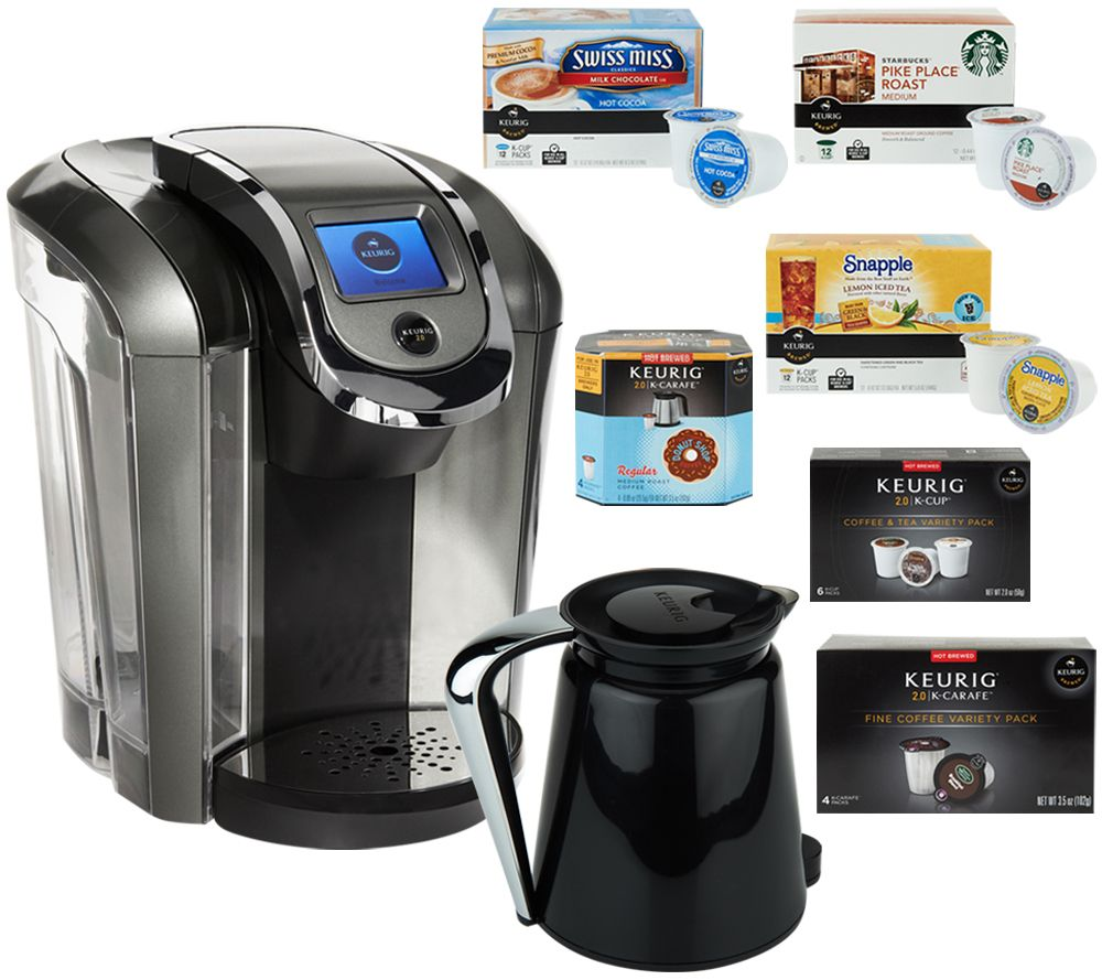 Mold In Coffee Maker Filter : Keurig 2.0 K550 Coffee Maker w/ 42 K-Cup Packs, 8 K-Carafe Packs & Filter - Page 1 QVC.com