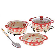 Temp-tations Old World Cook & Look 3-pc. Bake Set w/Serving Spoon - K43380