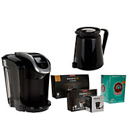 Keurig 2.0 K350 Coffee Maker with My K-Cup, 18 K-Cup Packs, & 4 K-Carafes - K43980