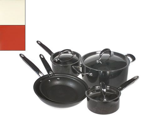 Kitchenaid pro nonstick 8 piece cookware set - Kitchen aid pan set ...