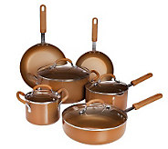 CooksEssential Color Smart 11-pc. Aluminum Nonstick Cookware Set - K36181