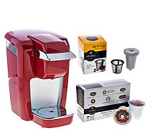 Keurig K15 Personal Coffee Maker with My K-Cup & 6 K-Cup Packs - K43981
