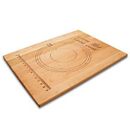 18 x 24 Solid Maple Pastry Board w/ MeasuringMarks - K129982