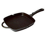 Mexican Origins 9 Square Preseasoned Cast-IronRibbed Grill - K301282