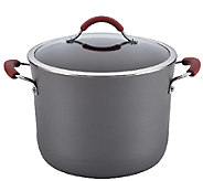 Rachael Ray Cucina Hard-Anodized Nonstick 10-QtCov Stockpot - K304282