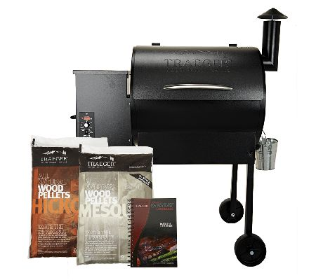 Traeger lone star 572 sq in wood fired grill smoker for Traeger smoker