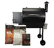 Traeger Lone Star 572 sq. in. Wood Fired Grill & Smoker - K41082