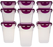 Lock & Lock 9 piece Mini Nestable Storage Set - K42982