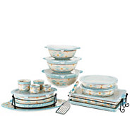 Temp-tations Old World Spring Colors 18-pc Bake and Serve Set - K44982