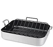 Oneida Aluminum Nonstick Roaster with U-Rack - K305083