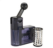 As Is Cooks Essentials Ratchet Cheese Grater w/ Extra Barrels - K307383