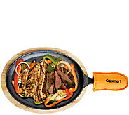 Cuisinart Pre-Seasoned Cast-Iron Grilled FajitaSet - K304284