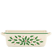 Lenox Holiday Loaf Pan - K304384