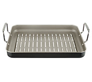 As Is Cooks Essentials 16 x 12 Nonstick Rectangle BBQ Grill Pan - K307184