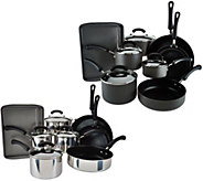 CooksEssentials 13-pc Anodized or Stainless Cookware Set - K44484