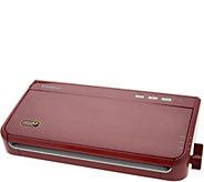 FoodSaver Compact Vacuum Sealer w/ Roll Storage & 38 Bags - K45884