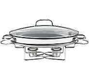 Cuisinart Stainless 13.5 2.5-qt Oval Buffet Server - K123585