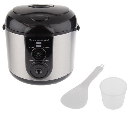 Cooksessentials Nonstick Stainless Steel Rice Cooker Multi Cooker Page 1