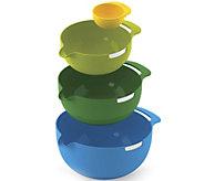 Joseph Joseph Nest 3-Piece Mixing Bowl Set withEgg Separator - K375685