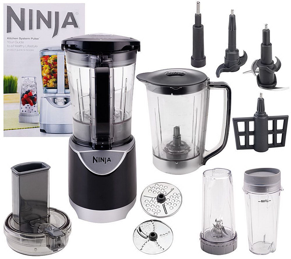 Ninja Kitchen System Pulse 48 oz. Blender with Accessories - Page 1 ...