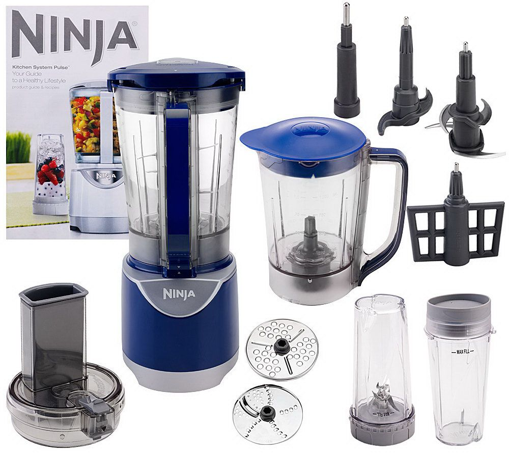 Uncategorized Ninja Kitchen Appliances ninja kitchen system pulse 48 oz blender with accessories page 1 qvc com