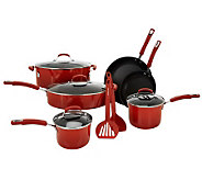 Rachael Ray 12-pc Gradient Porcelain Enamel Cookware Set - K39885
