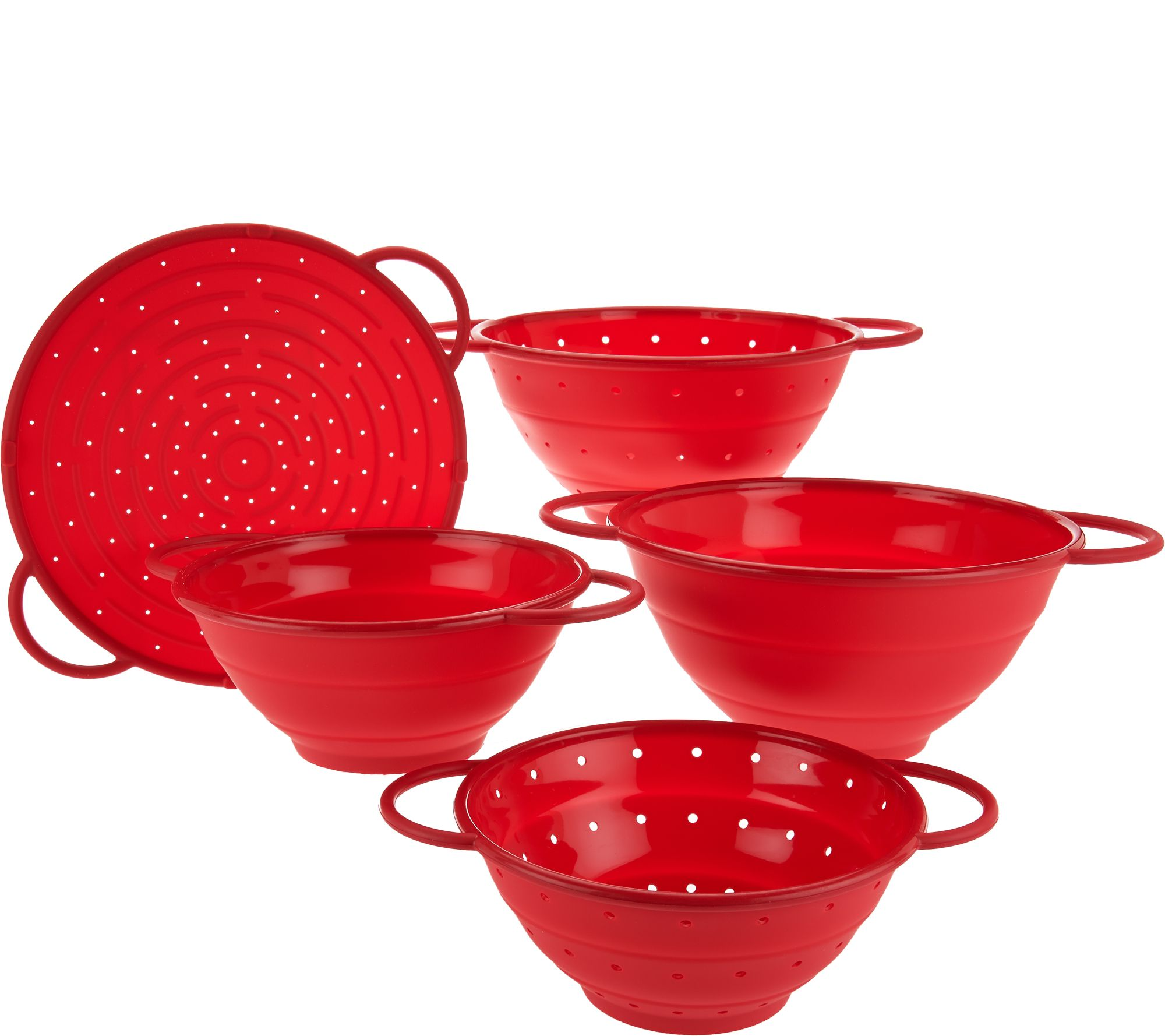 Cook s Essentials 5pc Silicone Collapsible Kitchen Set Page 1