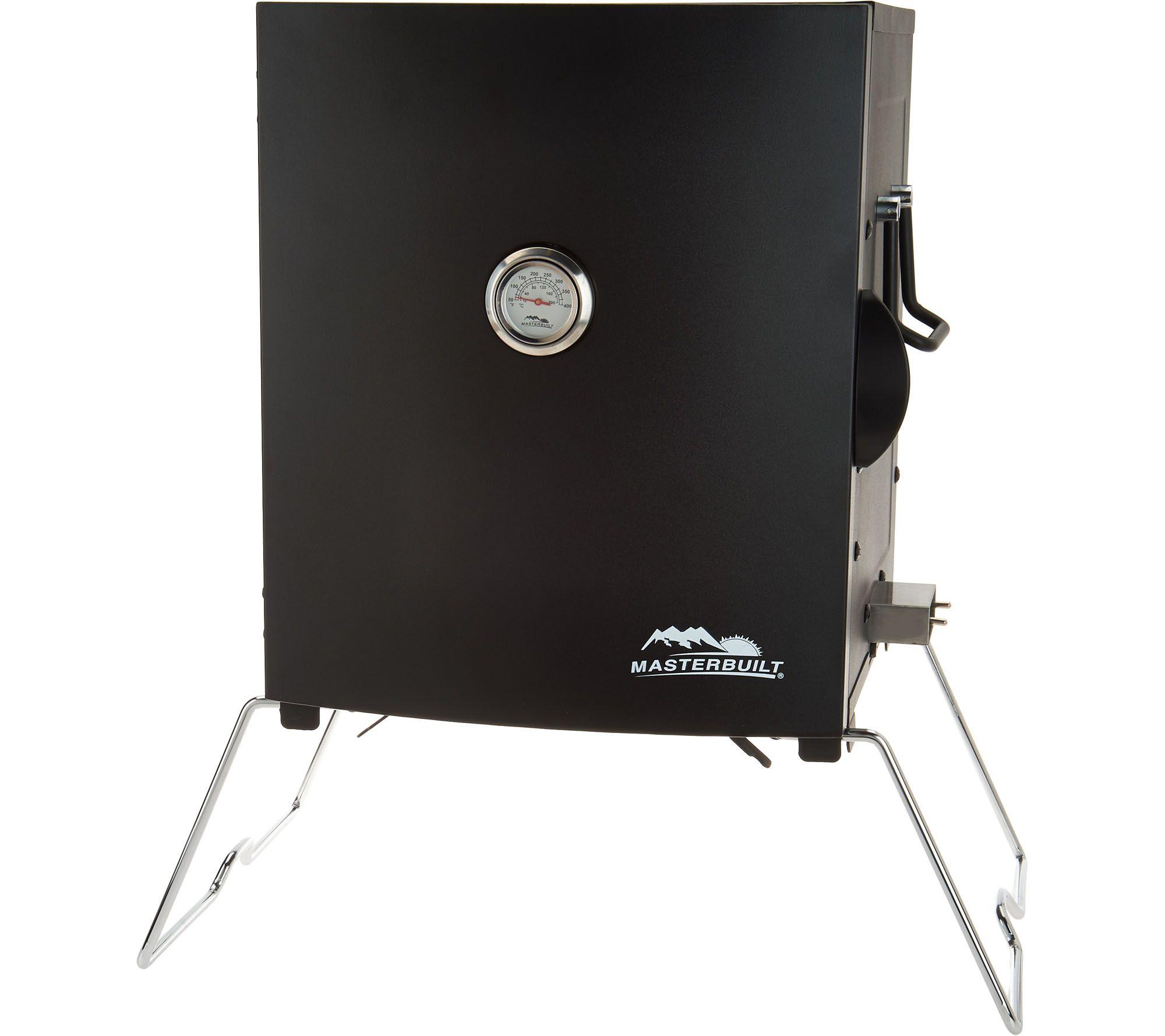 Masterbuilt 2 Rack Patio U0026 Portable Electric Smoker With Rib Rack   K45885