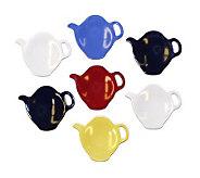 Gourmac Set of 7 Tea Bag Caddies - K120287
