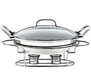 Cuisinart Stainless Steel 11 3-qt Round BuffetServer - K123587